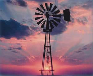 Wind is a form of solar energy, as winds are caused by the uneven heating of the atmosphere by the sun, the irregularities of the Earth's surface, and the rotation of the Earth. For thousands of years, windmills have been used to pump water and grind grain, as well as to sail the seas.