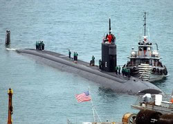 A false alarm led the Pentagon overnight to scramble to save a nuclear-powered submarine that U.S. Navy officials feared was lying helpless on the ocean floor off Jacksonville, Fla.
