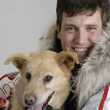 A three member panel disqualified Ramy Brooks from the 2007 Iditarod Trail Sled Dog Race for abusing his dogs along the race trail.