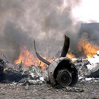 A plane has crashed shortly after taking off from the main airport in the Somali capital, Mogadishu.