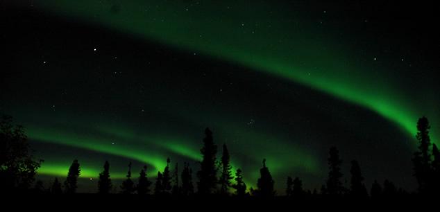 Aurora Borealis (Northern Lights) in Tok Alaska
